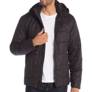 JOHN VARVATOS Quilted Puffer Hooded Jacket NWT XXL